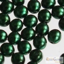 Emerald - 50 Stück - Tschechische Glaswachsperlen 3 mm (70959)