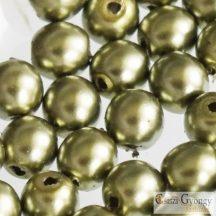 Oliva - 50 db - cseh, üveg tekla gyöngy 3 mm (10272)