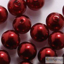 Wine - 50 db - 3 mm cseh, üveg tekla gyöngy (10186)