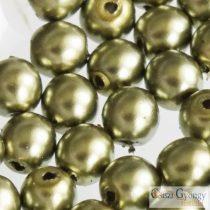 Oliva - 50 db - cseh, üveg tekla gyöngy 4 mm (10272)
