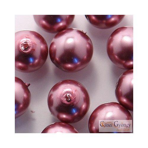 Orchidea - 40 db - cseh, üveg tekla gyöngy 4 mm (70428)