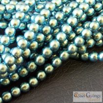Green and Blue - 50 pcs. - 4 mm Glass Pearls