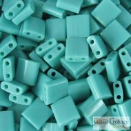 Opaque Turquoise Green - 5 g - Tila Beads (412)