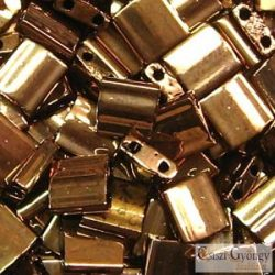Dark Bronze - 5 g - Tila gyöngy 5x5x1.9 mm (457)