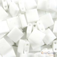 Opaque White - 5 g - Tila gyöngy 5x5x1.9 mm (402)
