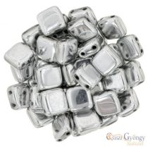 Silver - 20 pc. - Tile Beads, size: 6x6mm (S00030)