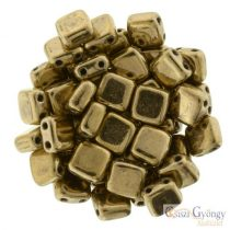 Bronze - 20 Stk. - TILE beads, Grösse: 6x6mm (B23980)