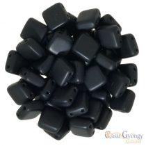 Matte Jet - 20 pc. - Tile beads size: 6x6 mm (M23980)