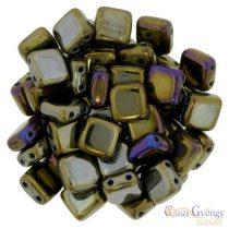 Iris Brown - 20 db - Tile gyöngy 6 mm (21415JT)