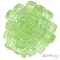 Peridot - 20 Stk. - Tile Beads, 6 mm (50500)