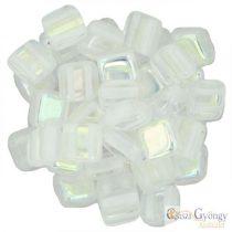 Crystal AB - 20 pcs. - Tile Beads (X00030)