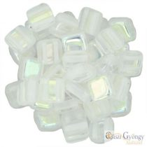 Crystal AB - 20 pcs. - Tile Beads (X00030)