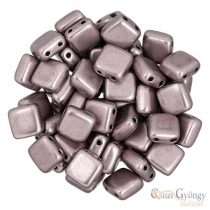 C.T. Sat Almost Mauve - 20 pcs. - Tile Beads 6x6mm (05A02)