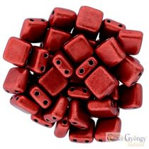 C.T. Sat Cherry Tomato - 20 pcs. - Tile Beads 6x6mm (05A08)
