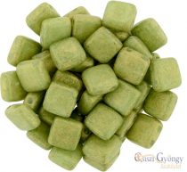 Pacifica Avocado - 20 pcs. - Tile Beads 6x6mm (S1005WH)
