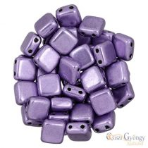 C.T. Sat. Met. Crocus Petal - 20 pcs. - Tile Beads 6x6 mm (06B08)