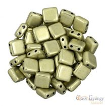 C.T. Sat. Met. Limelight - 20 Stück - Tile Beads 6x6mm (06B09)