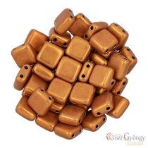 C.T. Sat. Met. Russet Orange - 20 Stück - Tile Beads 6x6mm (06B06)