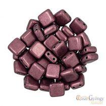 C.T. Sat. Met. Red Pear - 20 pcs. - Tile Beads (06B01)