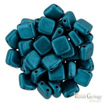C.T. Sat. Met. Shaded Spruce - 20 Stück - Tile Beads (04B07)