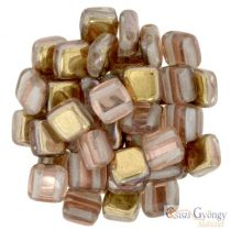 Apollo Gold - 20 Stück - Tile Beads 6x6mm (C00030)