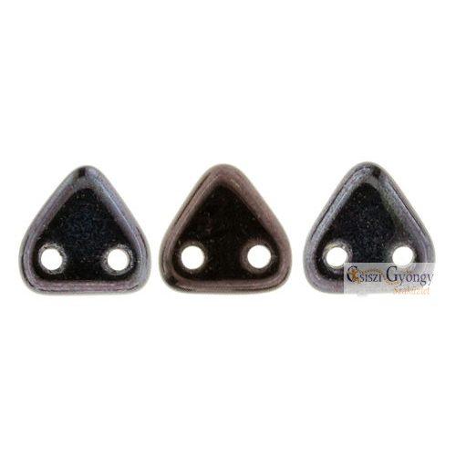 Luster Metallic Amethyst - 20 db - Triangle gyöngy, mérete: 6 mm (LE23980)