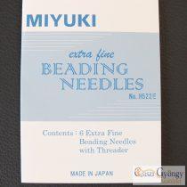 Miyuki Beading Needle Set - 1 card (6 Needles  + Threader)