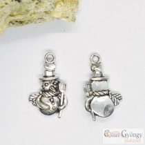 Pedant - 1 pcs. - antique silver, size: 23 mm