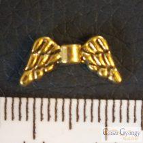 Angyalszárny - 1 db - sárgaréz színű, mérete: 14 mm