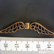 Angyalszárny - 1 db - bronz színű, hossza: 50 mm