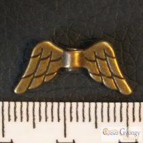Angyalszárny - 1 db - réz színű, mérete: 19 mm