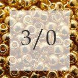 3/0 TOHO seedbeads